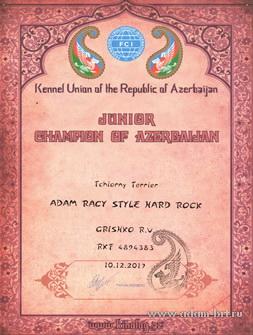 Адам Рэйси Стайл ХАРД РОК - ЮНЫЙ ЧЕМПИОН РОССИИ! ЮНЫЙ ЧЕМПИОН АЗЕРБАЙДЖАНА!
